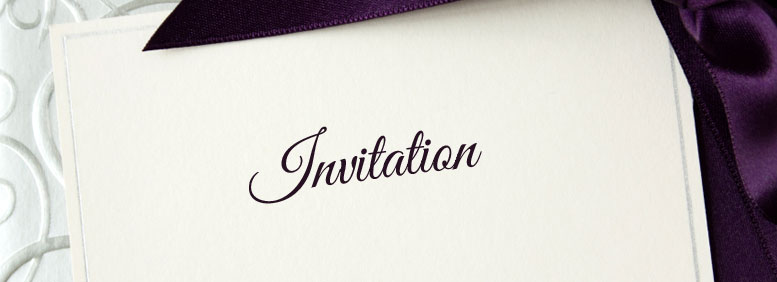lettres invitation. Black Bedroom Furniture Sets. Home Design Ideas